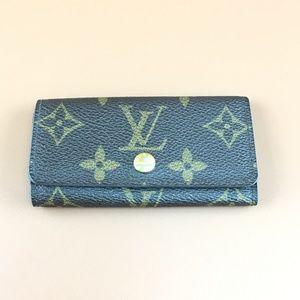 Preowned Louis Vuitton Monogram 4 Ring Key Holder